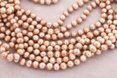 Garā pērļu kaklarota