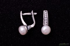 Pērles ar cirkoniju